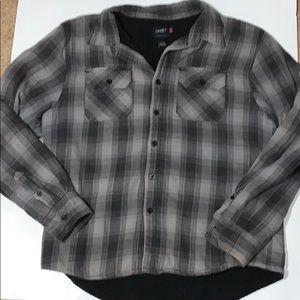 O'Neill fleece lined plaid shirt